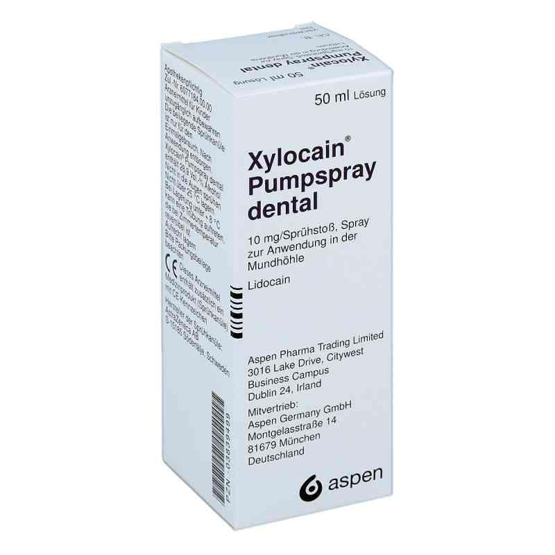 Xylocain Pumpspray Dental  zamów na apo-discounter.pl