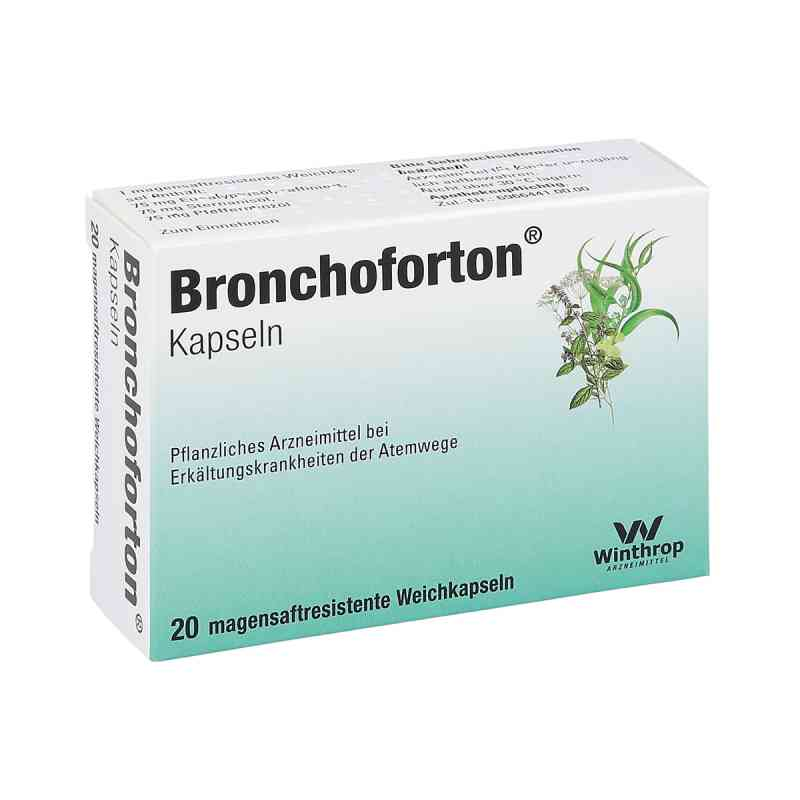 Bronchoforton Kapseln magensaftr.  zamów na apo-discounter.pl