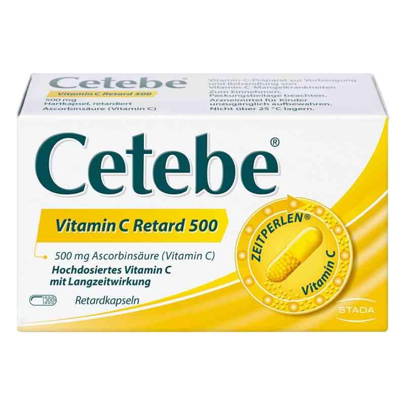 Cetebe Vitamin C 500 mg kapsułki o przedłużonym uwalnianiu   zamów na apo-discounter.pl