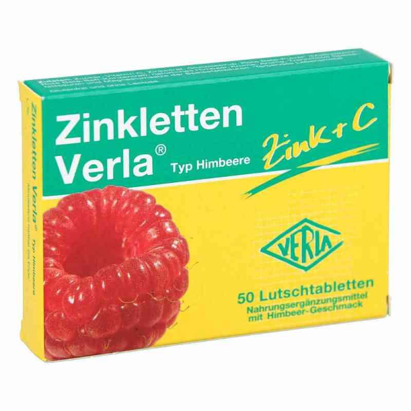 Zinkletten Verla Cynk pastylki o smaku malinowym  zamów na apo-discounter.pl