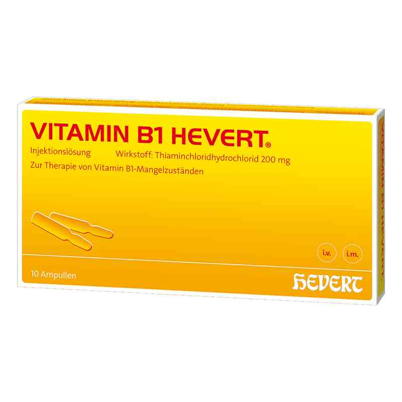 Vitamin B 1 Hevert Amp. zamów na apo-discounter.pl