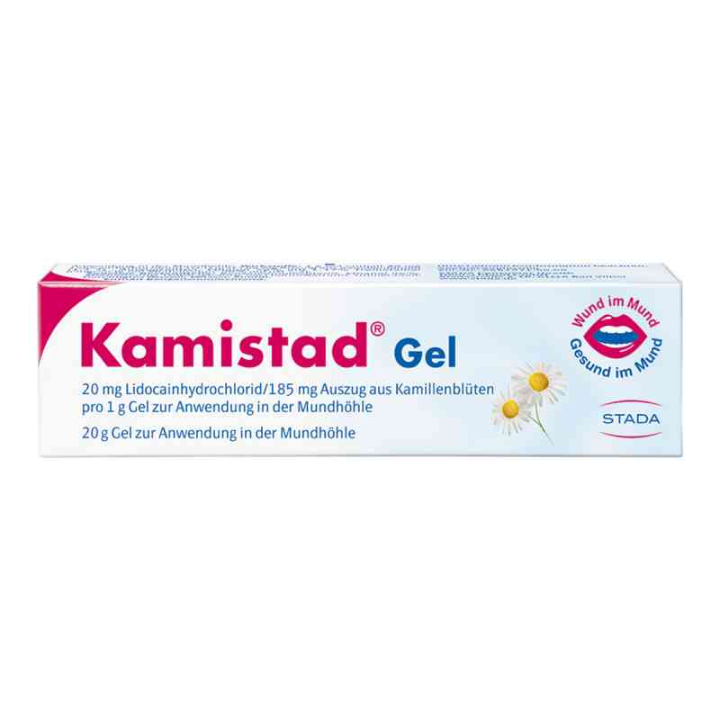 Kamistad żel do jamy ustnej  zamów na apo-discounter.pl