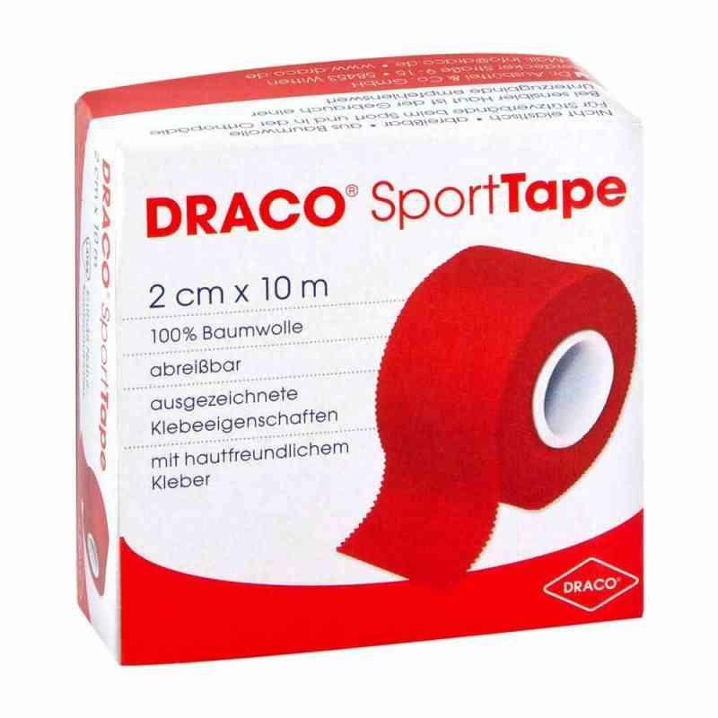 Dracotapeverband opaska elastyczna 10mx2cm czerwona  zamów na apo-discounter.pl