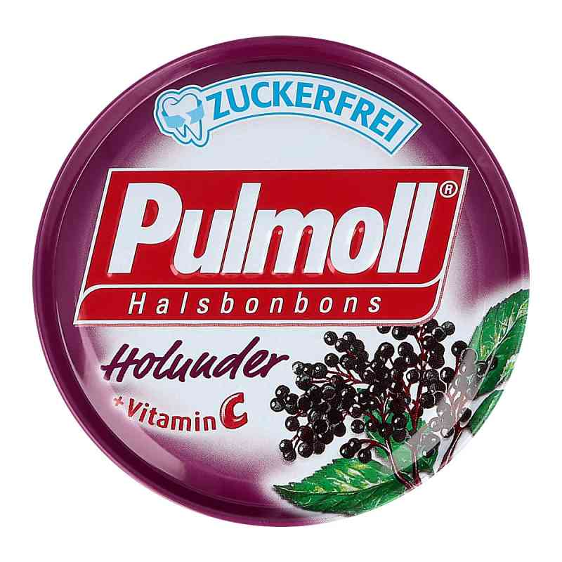 Pulmoll Holunder zuckerfrei Bonbons zamów na apo-discounter.pl