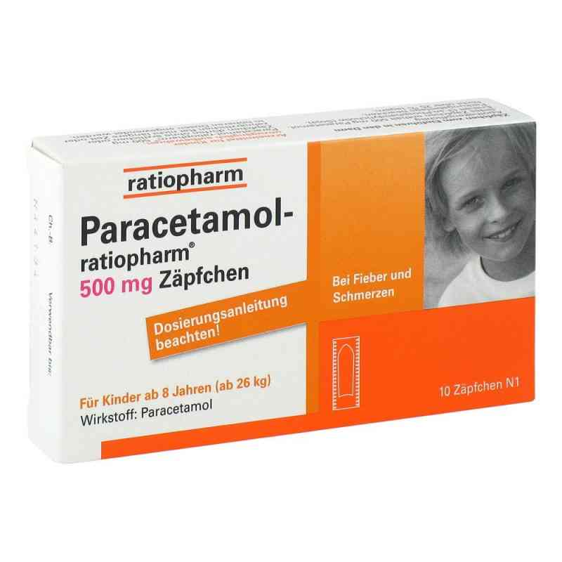 Paracetamol ratiopharm 500 mg Kindersuppos.  zamów na apo-discounter.pl
