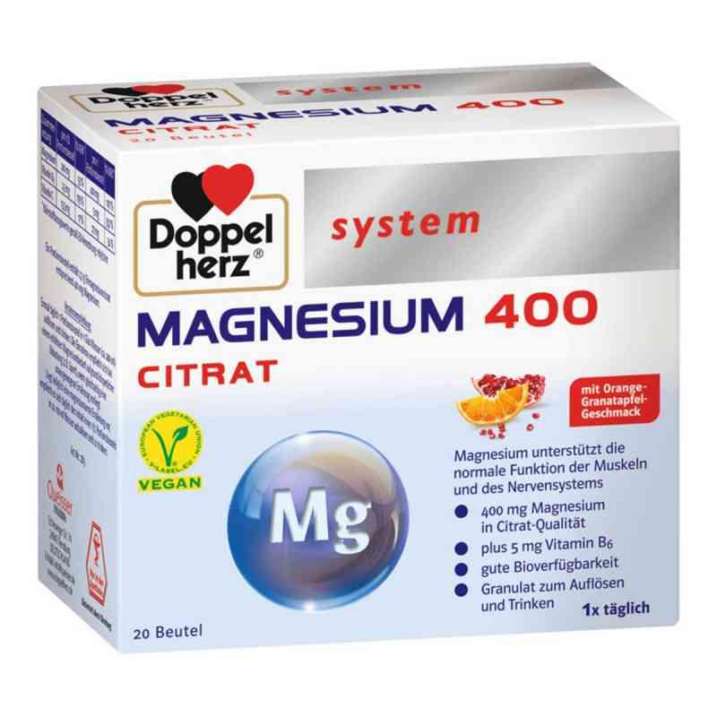 Doppelherz System Magnez 400 granulki  zamów na apo-discounter.pl