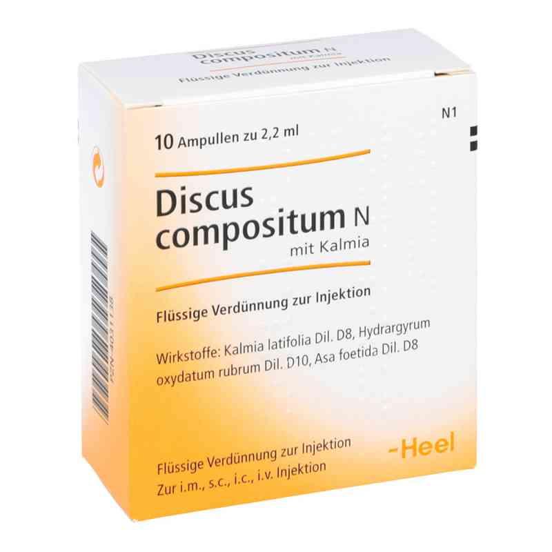 Discus compositum N z Kalmią ampułki  zamów na apo-discounter.pl