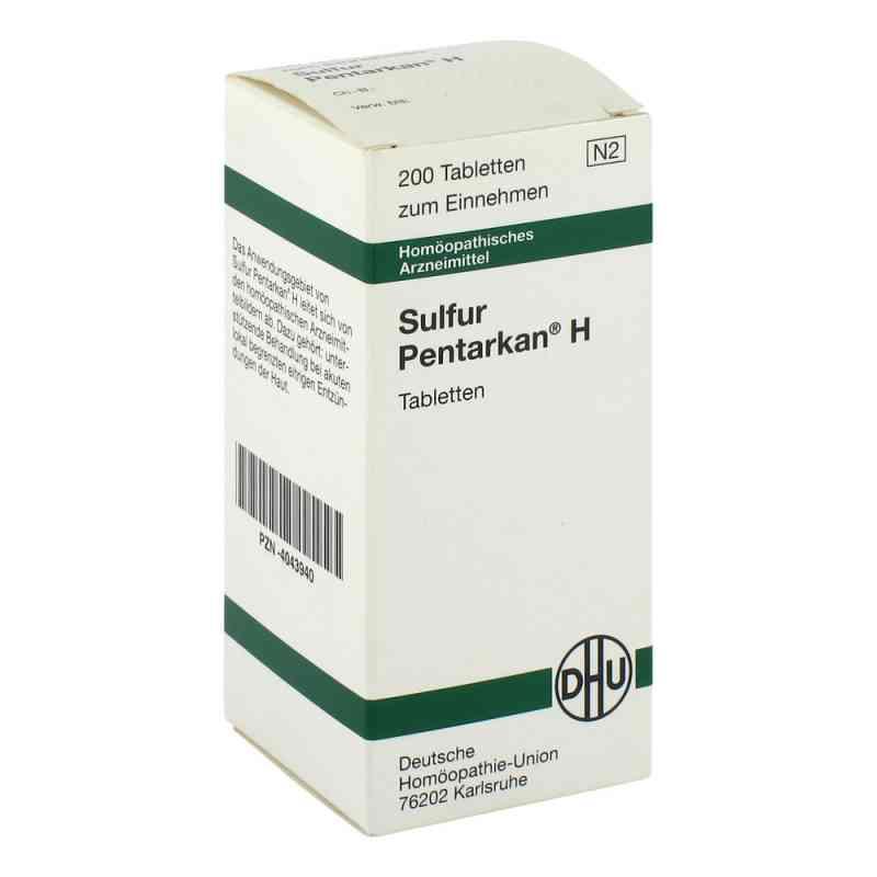 Sulfur Pentarkan H Tabl.  zamów na apo-discounter.pl