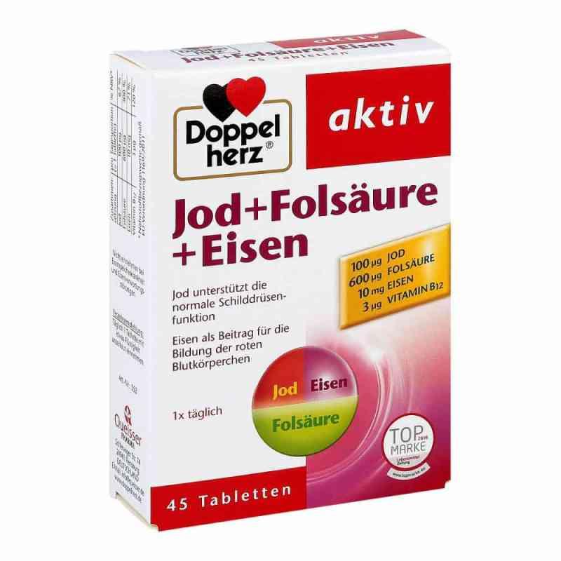 Doppelherz jod+kwas foliowy+żelazo tabletki  zamów na apo-discounter.pl