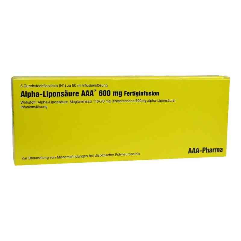 Alpha Liponsaeure Aaa 600 mg Inj.-fl. zamów na apo-discounter.pl