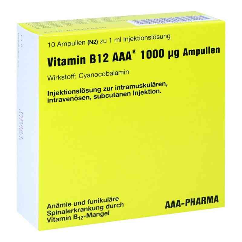 Vitamin B 12 Aaa 1000 [my]g Amp.  zamów na apo-discounter.pl
