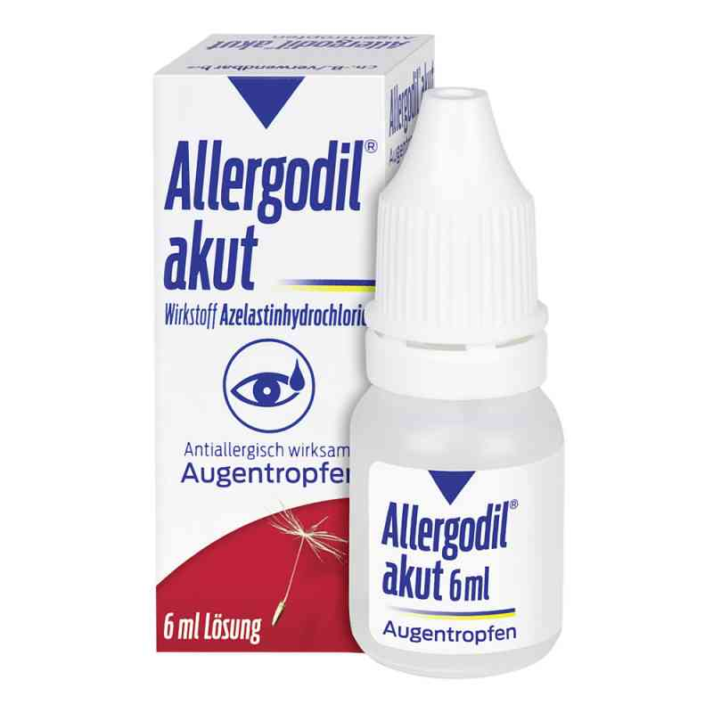 Allergodil akut Augentropfen  zamów na apo-discounter.pl