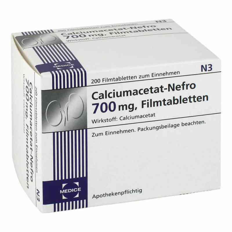 Calciumacetat Nefro 700 mg Filmtabl.  zamów na apo-discounter.pl