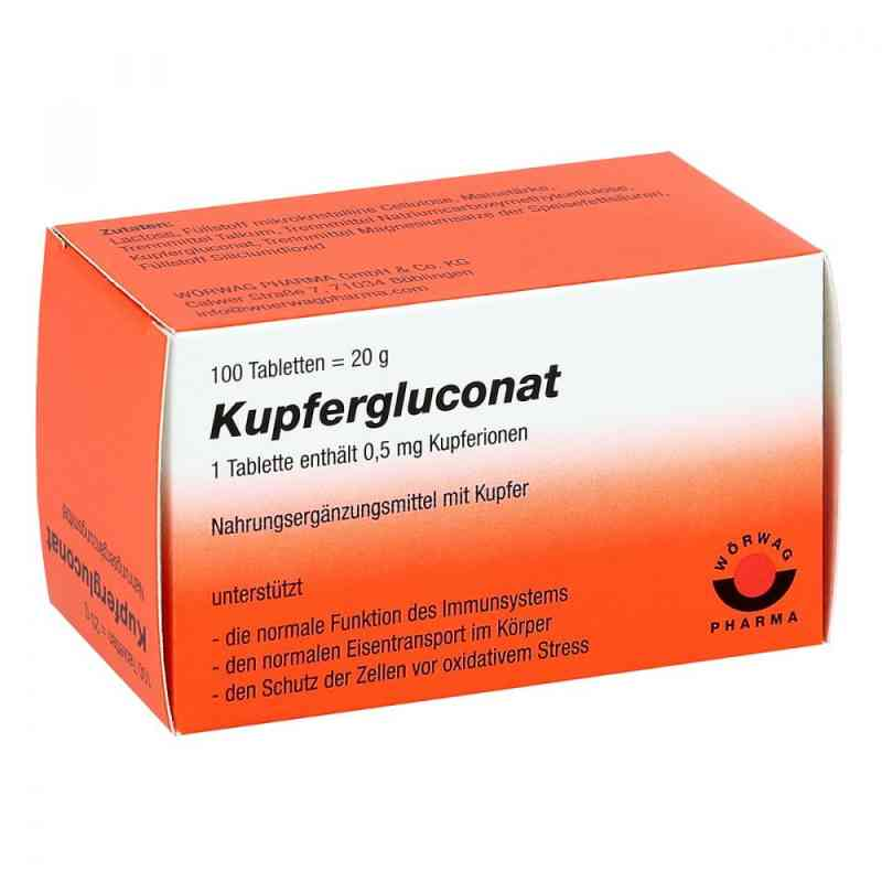 Kupfergluconat kapsułki  zamów na apo-discounter.pl