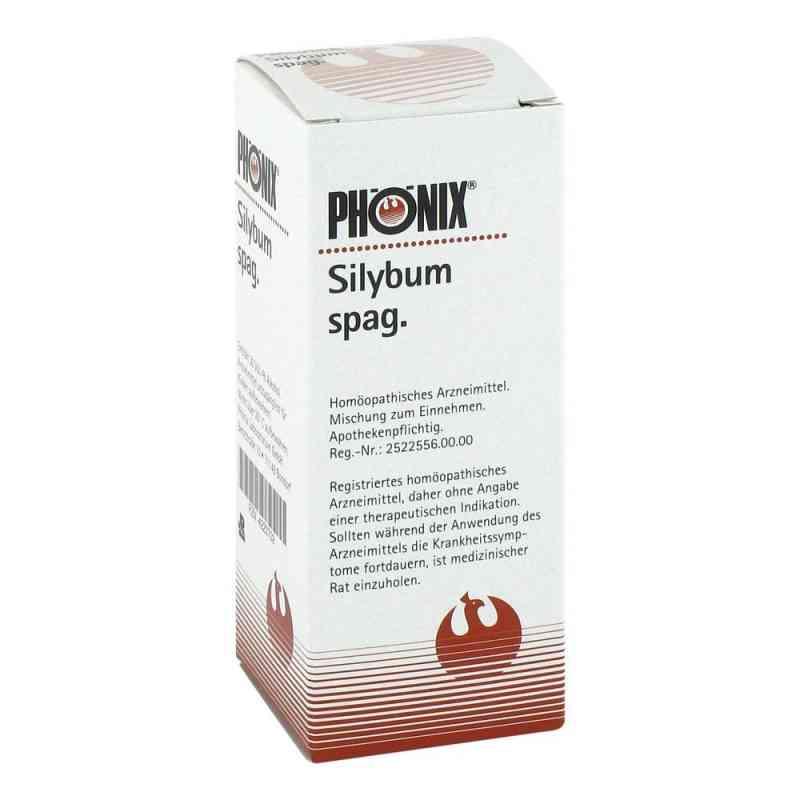 Phoenix Silybum spag. Tropfen  zamów na apo-discounter.pl