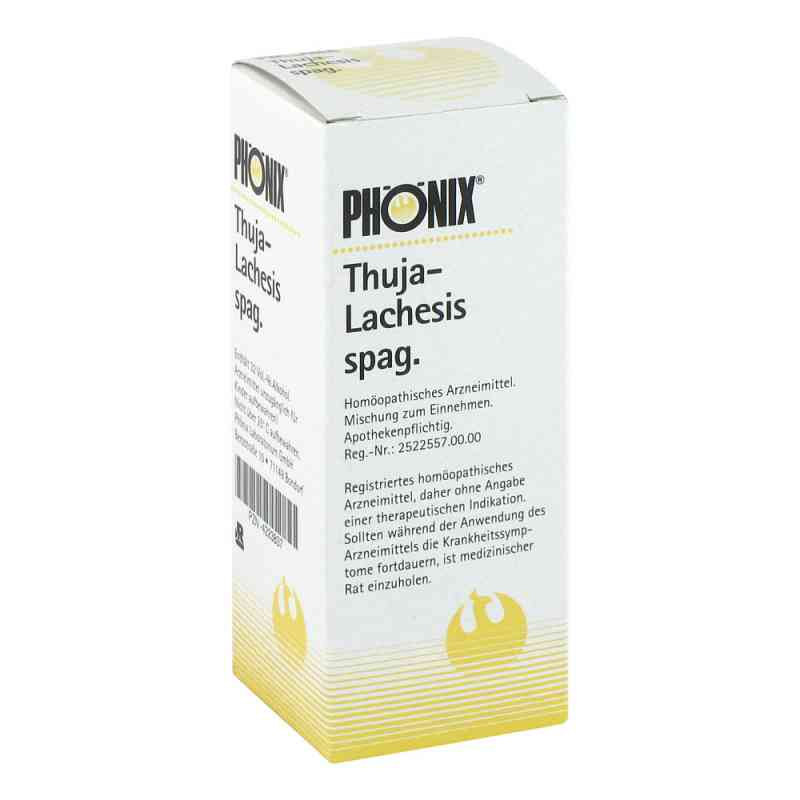 Phoenix Thuja lachesis spag. Tropfen zamów na apo-discounter.pl