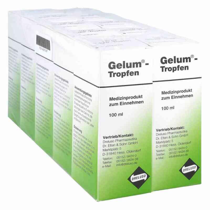 Gelum Tropfen 1000 ml od Dreluso-Pharmazeutika Dr.Elten & PZN 04261967
