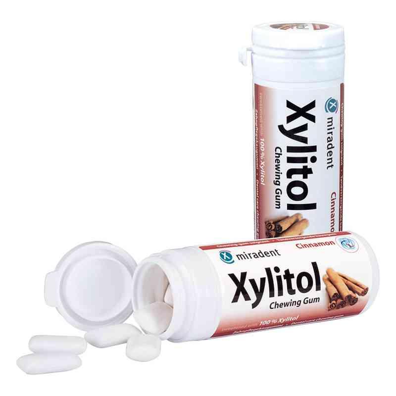 Miradent Xylitol cynamonowa guma do żucia  zamów na apo-discounter.pl