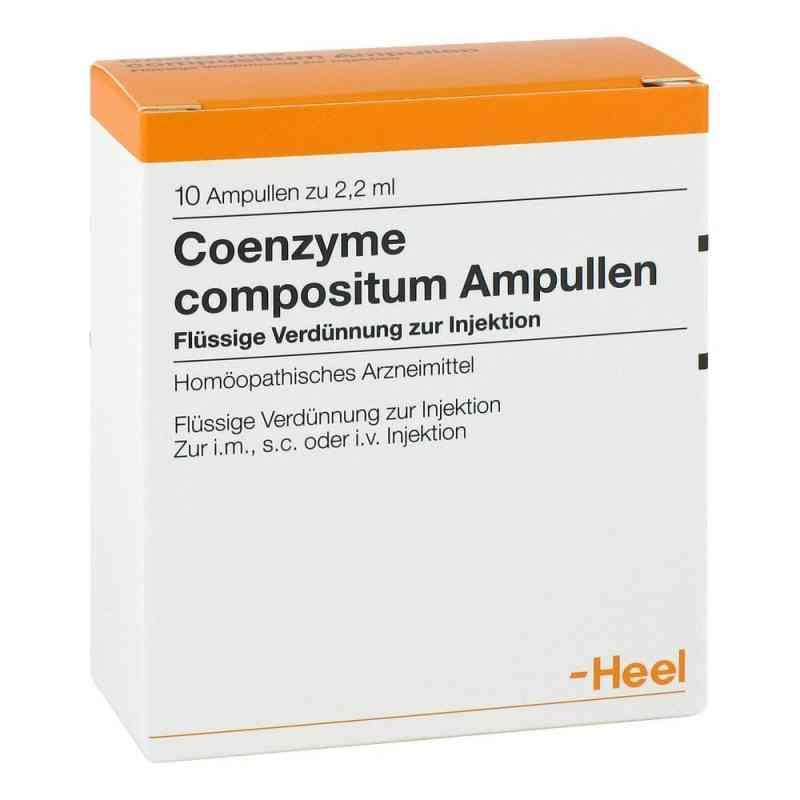 Coenzyme Coenzyme compositum ampułki  zamów na apo-discounter.pl