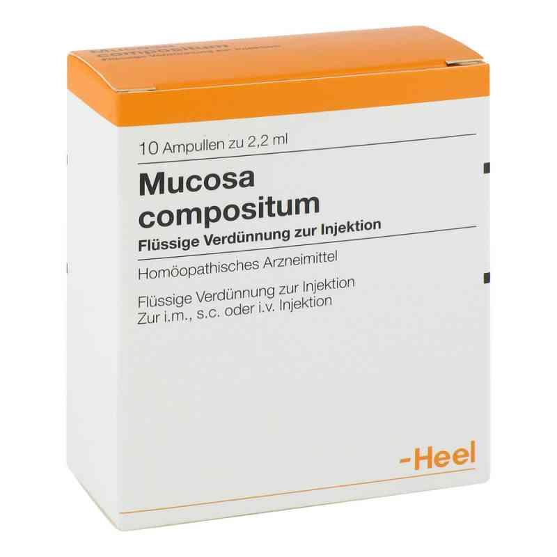Mucosa Compositum amupłki  zamów na apo-discounter.pl