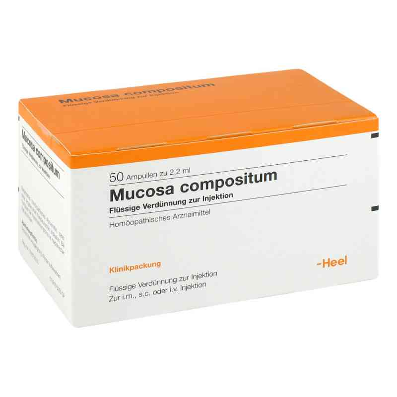 Mucosa Compositum ampułki do iniekcji  zamów na apo-discounter.pl