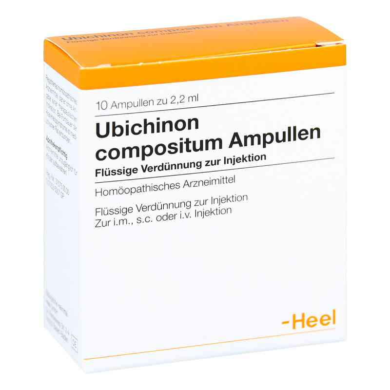 Heel Ubichinon compositum amupłki  zamów na apo-discounter.pl