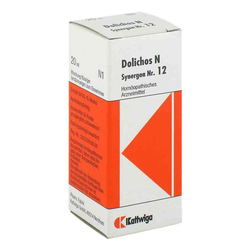 Synergon 12 Dolichos N Tropfen  zamów na apo-discounter.pl