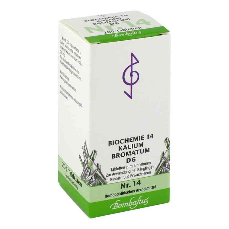 Biochemie 14 Kalium bromatum D 6 Tabl.  zamów na apo-discounter.pl