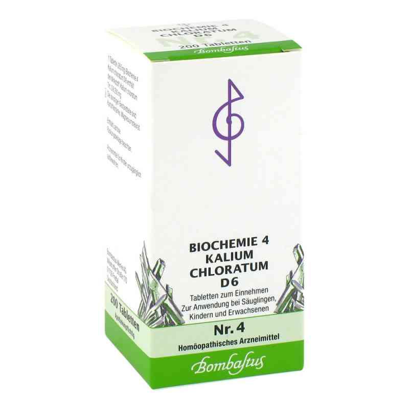 Biochemie 4 Kalium chloratum D 6 Tabl. zamów na apo-discounter.pl