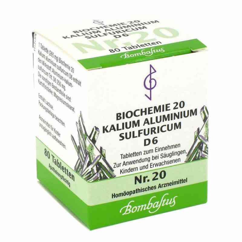 Biochemie 20 Kalium aluminium sulf.D 6 Tabl. zamów na apo-discounter.pl
