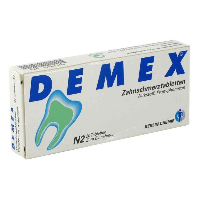 Demex Zahnschmerztabletten  zamów na apo-discounter.pl