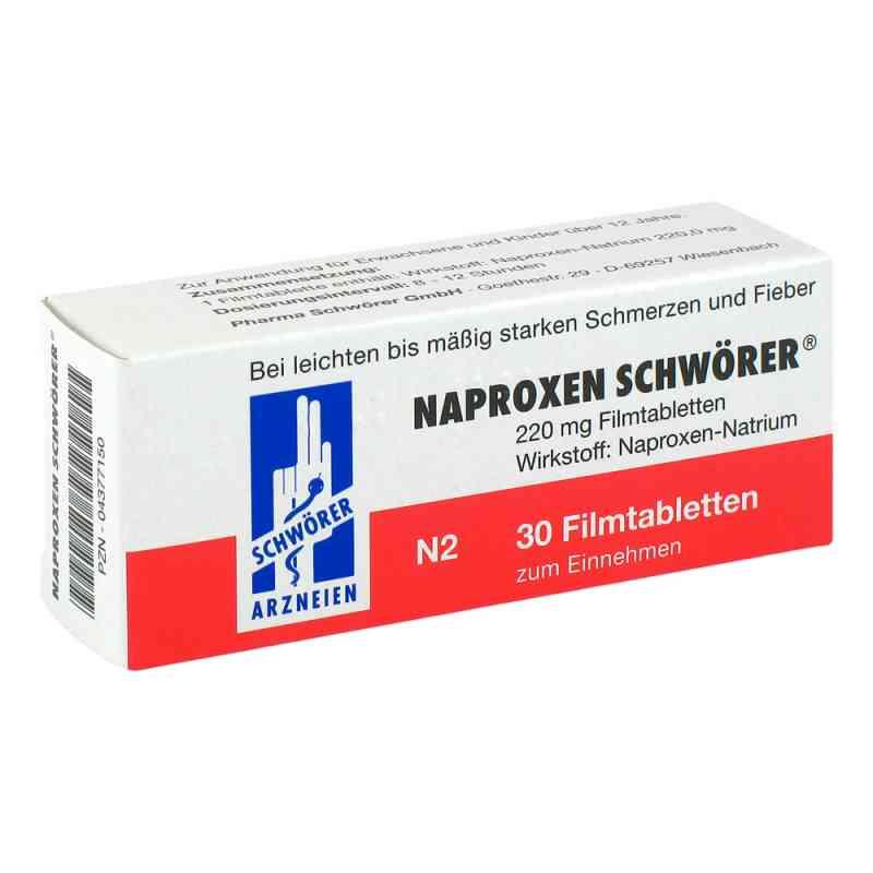 Naproxen Schwoerer Filmtabl.  zamów na apo-discounter.pl