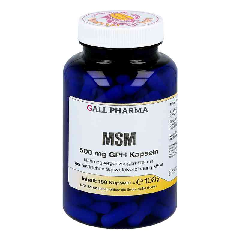 Msm 500 mg Gph Kapseln  zamów na apo-discounter.pl