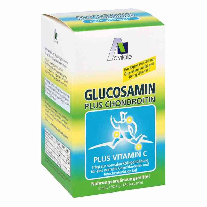 Glukozamina 500 mg + Chondroitin 400 mg kapsułki zamów na apo-discounter.pl