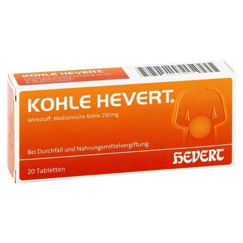 Hevert tabletki z węglem  zamów na apo-discounter.pl