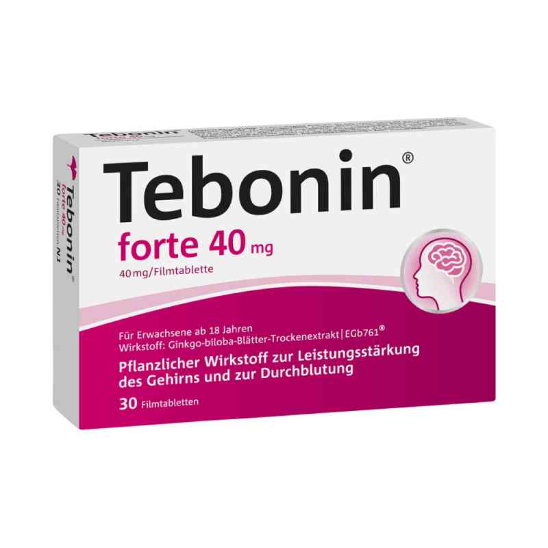 Tebonin forte 40 mg Filmtabl.  zamów na apo-discounter.pl