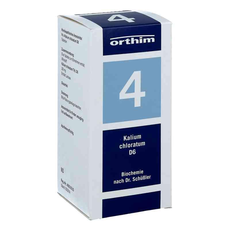 Biochemie Orthim 4 Kalium chloratum D 6 Tabl. zamów na apo-discounter.pl
