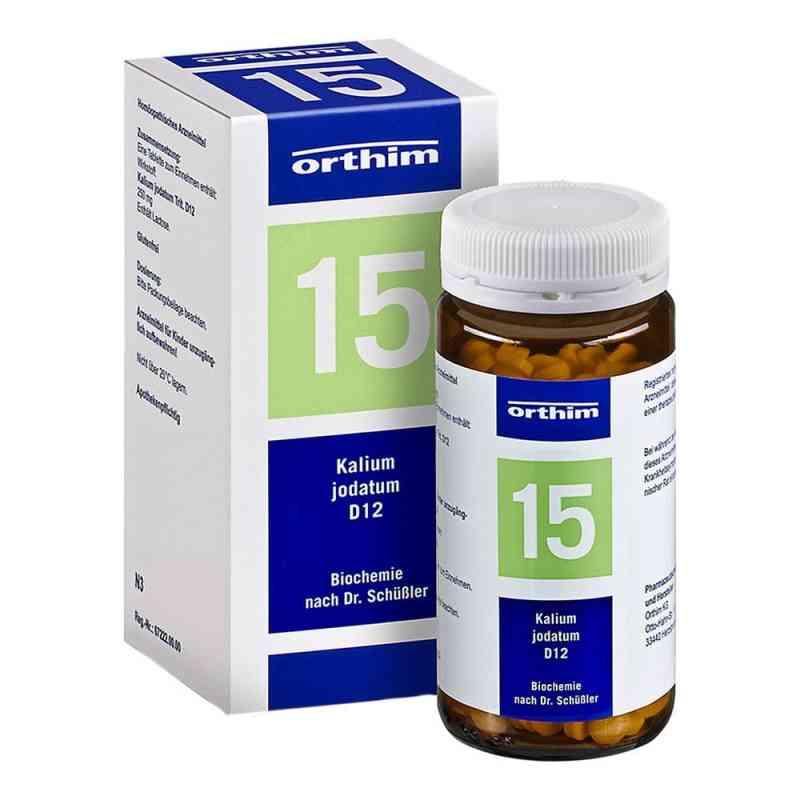 Biochemie Orthim 15 Kalium jodatum D 12 Tabl. zamów na apo-discounter.pl