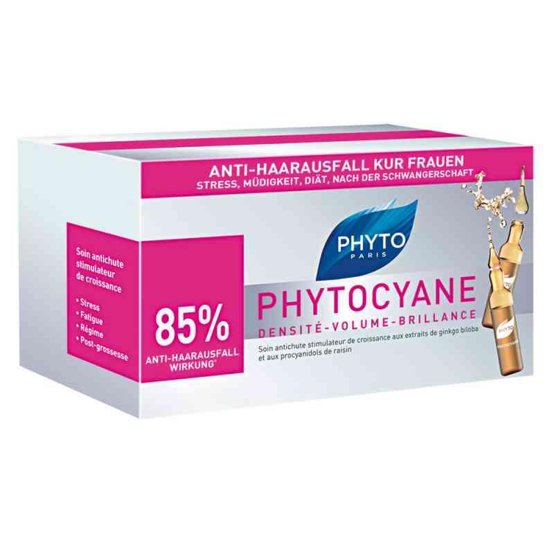 Phyto Phytocyane ampułki przeciw wypadaniu włosów dla kobiet  zamów na apo-discounter.pl
