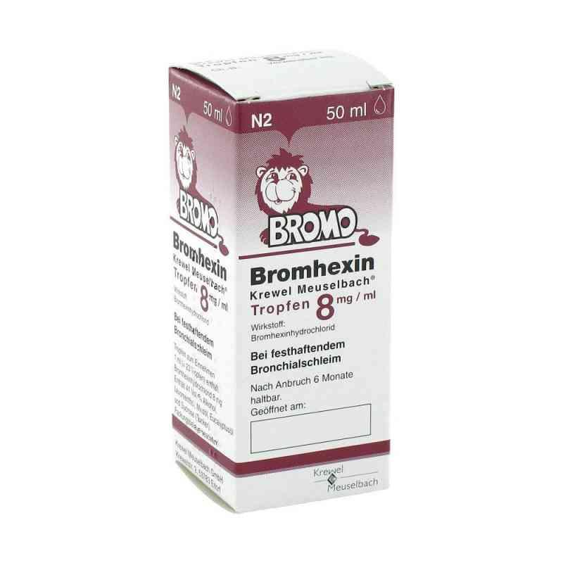 Bromhexin Krewel Meuselb.tropfen 8mg/ml zamów na apo-discounter.pl