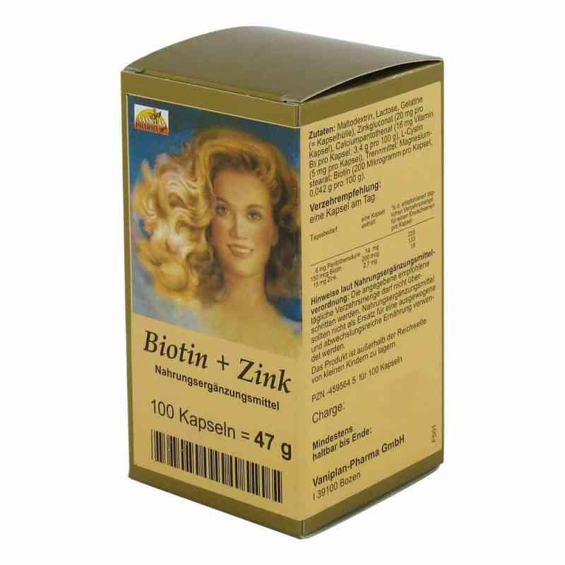 Biotin Plus Cynk kapsułki do włosów  zamów na apo-discounter.pl