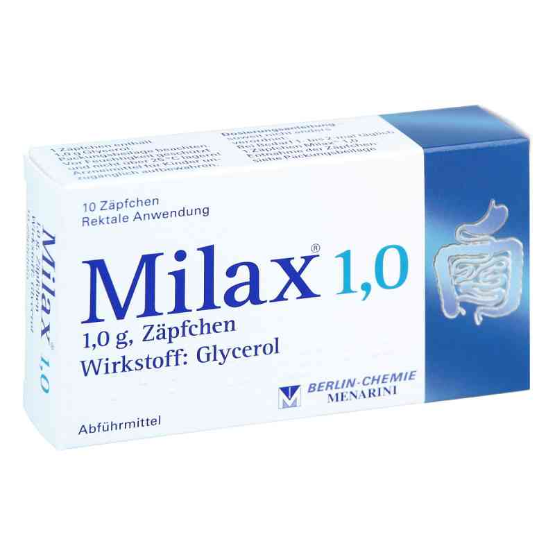 Milax 1,0 Suppos.  zamów na apo-discounter.pl