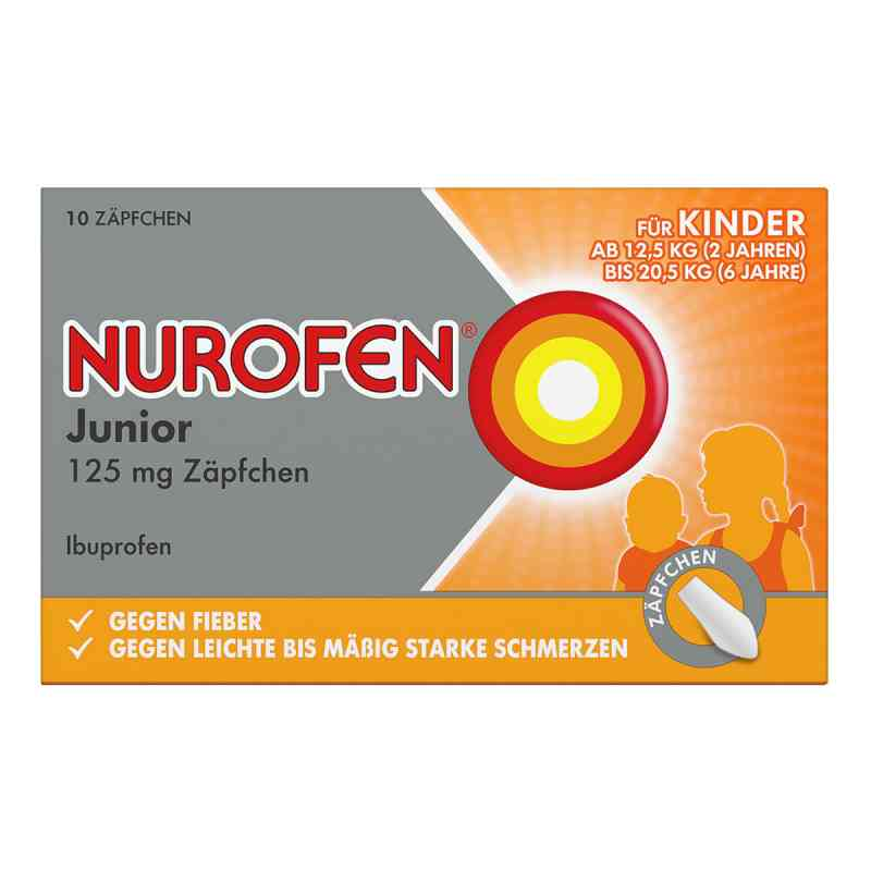 Nurofen Junior 125 mg Zaepfchen  zamów na apo-discounter.pl