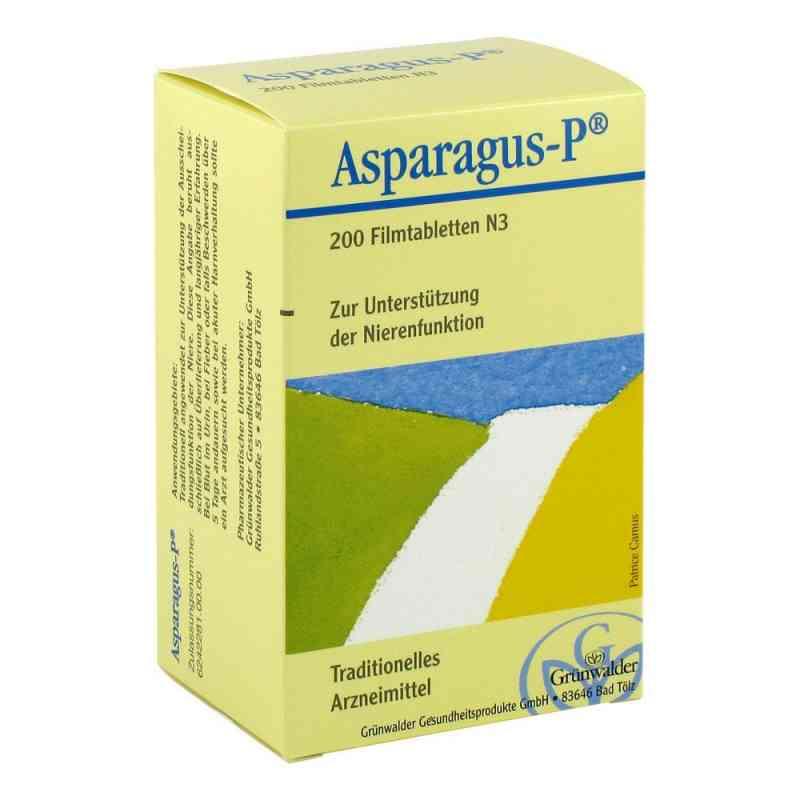 Asparagus P tabletki ze szparagów i pietruszki  zamów na apo-discounter.pl