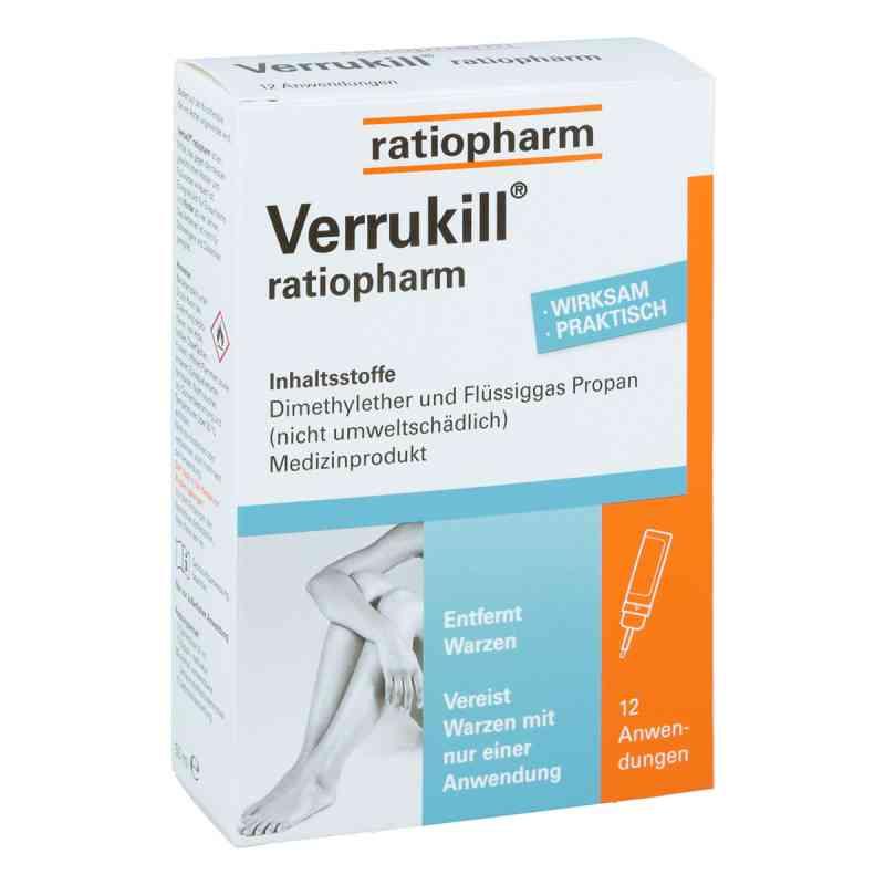 Verrukill ratiopharm spray na kurzajki zamów na apo-discounter.pl