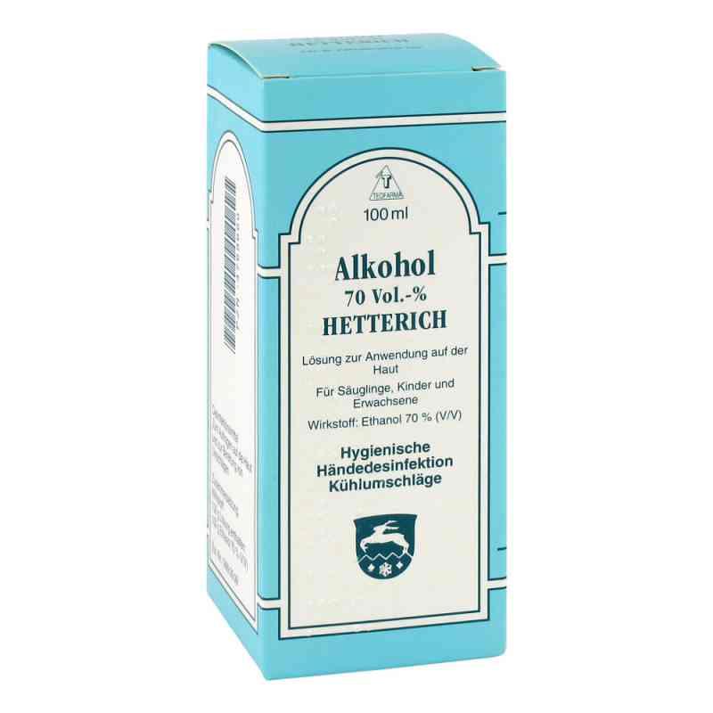 Hetterich 70% roztwór alkoholowy  zamów na apo-discounter.pl