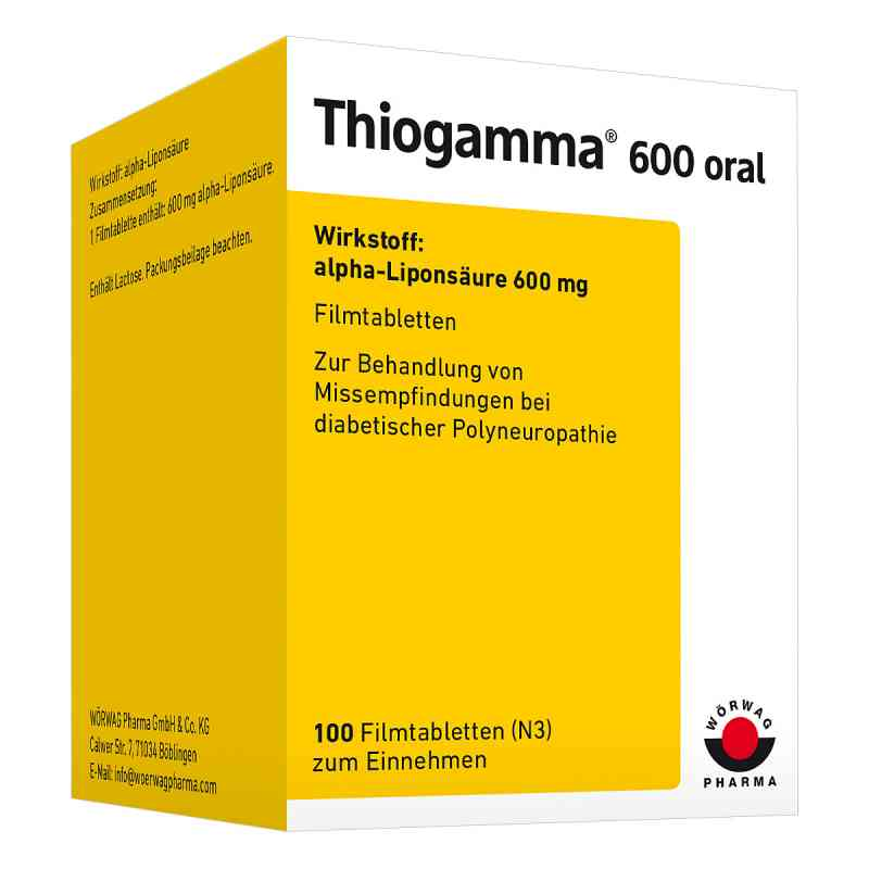 Thiogamma 600 oral Filmtabl. zamów na apo-discounter.pl