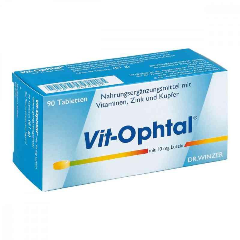 Vit Ophtal mit 10 mg Lutein tabletki zamów na apo-discounter.pl