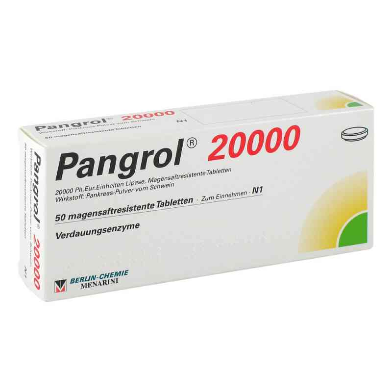 Pangrol 20000 Filmtabl.  zamów na apo-discounter.pl