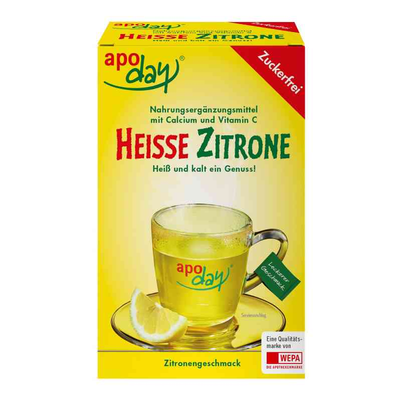 Apoday Heisse Zitrone proszek z wit. c i wapniem zamów na apo-discounter.pl